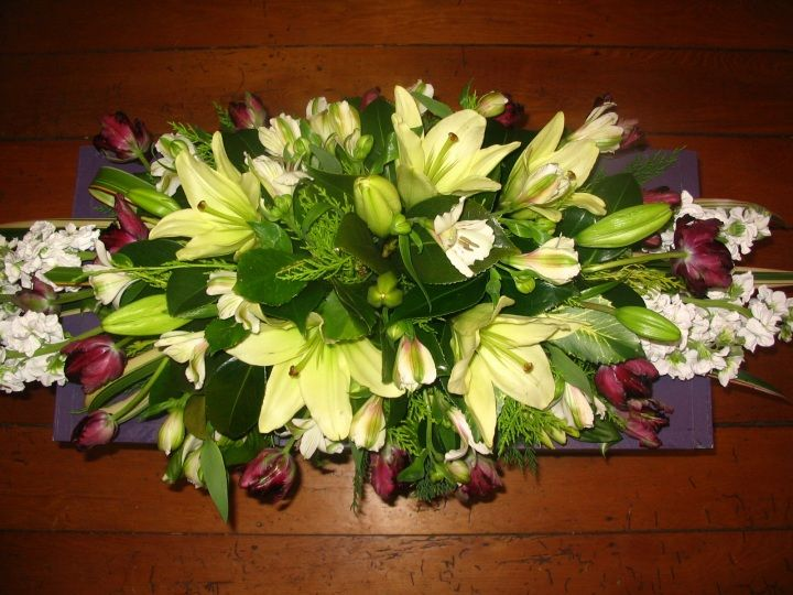 Tulips, Lilies, Stock and Alstroemeria